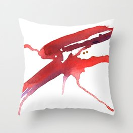 Bugging Out Throw Pillow