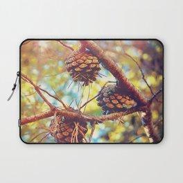 Autumn pine cones  #photography Laptop Sleeve