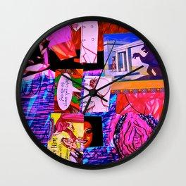 Psycho Grandmother Wall Clock
