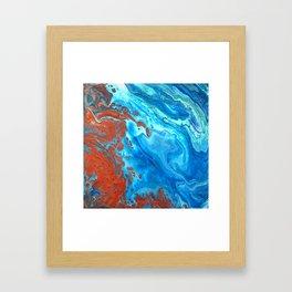 Earth Shifting Framed Art Print