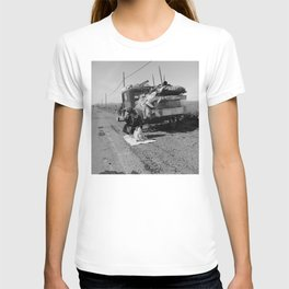 Broke, Baby Sick, and Car Trouble (1937) T-shirt