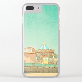 Santa Cruz Boardwalk Clear iPhone Case