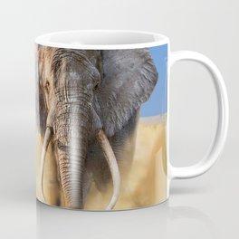 Charging bull elephant Coffee Mug
