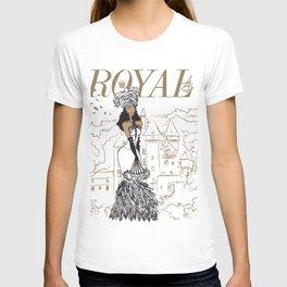 Kayla Royal T-shirt