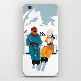 Les Bronzés font du ski - Fanart movie poster iPhone Skin
