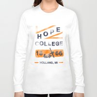 college Long Sleeve T-shirts featuring Hope College by Joey Carty
