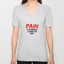 Pain Unisex V-Neck
