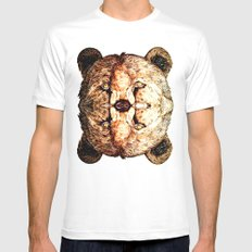 Two-Headed Bear Mens Fitted Tee White SMALL