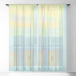 LIGHTNESS #2 Sheer Curtain