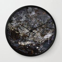 A raging stream Wall Clock