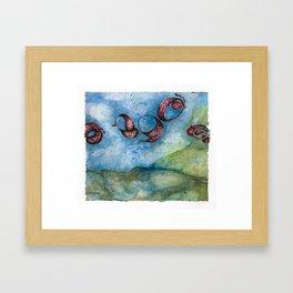 Common Descent #2 Framed Art Print