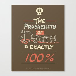 Morbid Reality #01 Canvas Print
