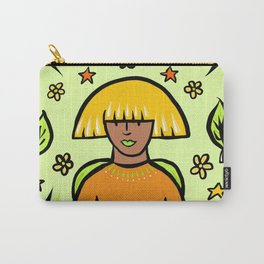 Glamazon Girl: Maple Carry-All Pouch