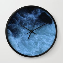 Overhead Rush Wall Clock