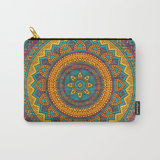 Hippie mandala 76 Carry-All Pouch