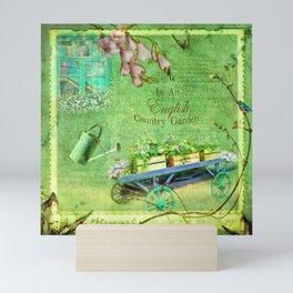 English Country Garden Mini Art Print