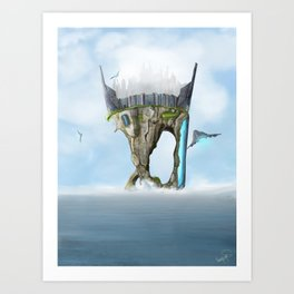 Last Island Art Print