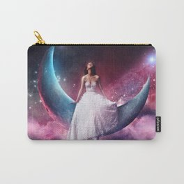 girl in th the moon Carry-All Pouch