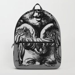 Cherub Face | Angel | Vintage cherub | Vintage angel | Angel decor Backpack