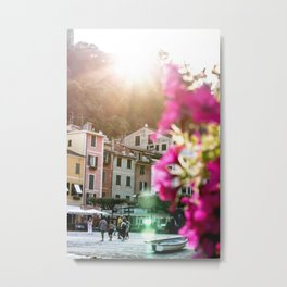 Portofino Sunset Metal Print