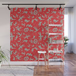 Moonchild Tribal	Cayenne Red Wall Mural