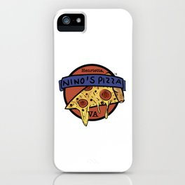 Nino's Pizza iPhone Case