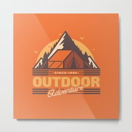 Outdoor Adventure Metal Print