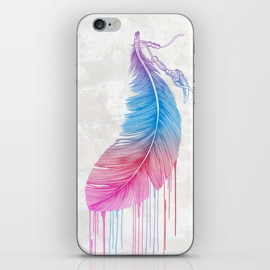 Colors of a Feather iPhone & iPod Skin