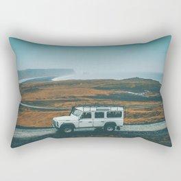 Defender on the Road Rectangular Pillow