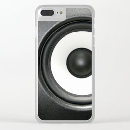 Loudspeaker Clear iPhone Case