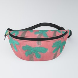 Dreamy Palm Trees Fanny Pack