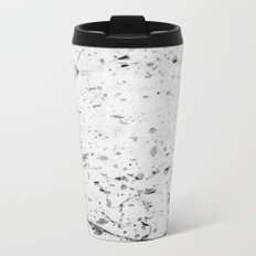 Speckle Marble Print Metal Travel Mug