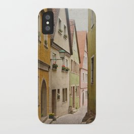 Italian Alley - Bright Colors iPhone Case