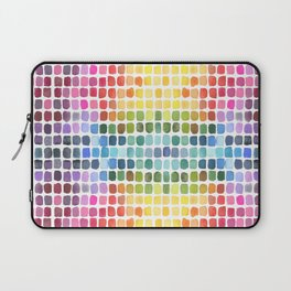 Watercolor Swatches Laptop Sleeve