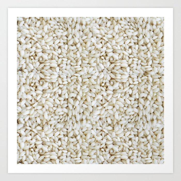 Rice pattern Kunstdrucke