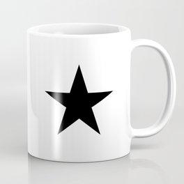 Black Star Coffee Mug