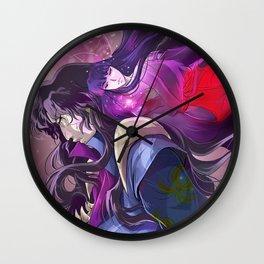 Naraku and Kikyou Wall Clock