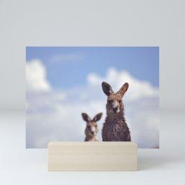 I See You Kangaroo Mini Art Print