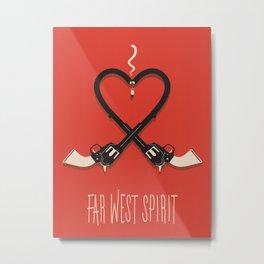 FAR WEST Metal Print