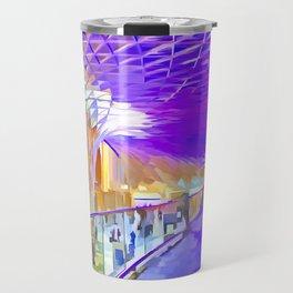 London Pop Art Travel Mug