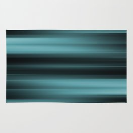 Abstract Rays - Warps design Rug