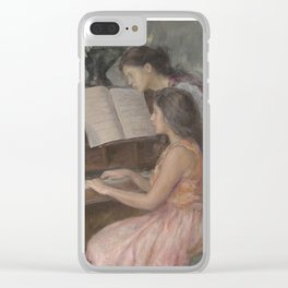Piano Lessons Clear iPhone Case