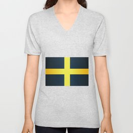 Flag of Saint David Of Wales Unisex V-Neck