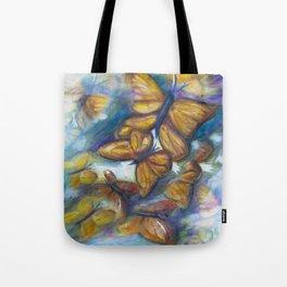 Shaded Wings Tote Bag