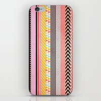 tape iPhone & iPod Skins featuring Washi Tape by Louise Machado