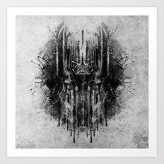 dark thoughts - sauron Art Print