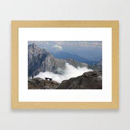Mountain Mist Framed Art Print