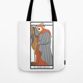 el ermitañ.ojo Tote Bag
