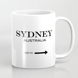 Sydney - Australia Coffee Mug