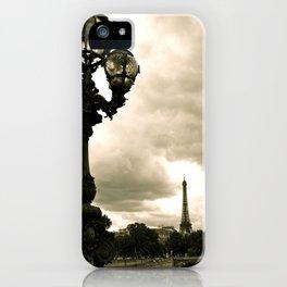 A Night In Paris iPhone Case